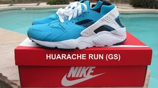 Nike Huarache Run GS Review + On Feet