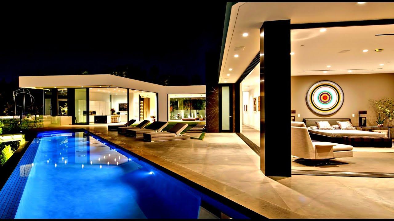 Incredible Mansion at Night Time
