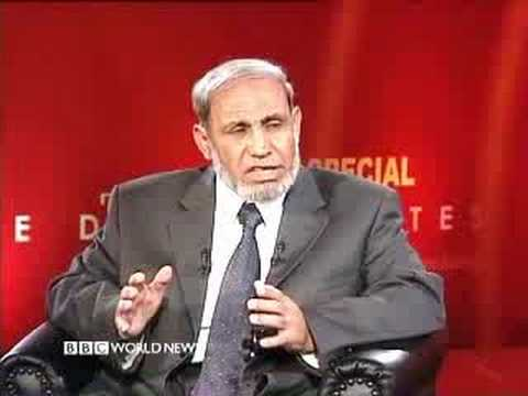Mahmoud Al Zahar - The Doha Debates - Part  1