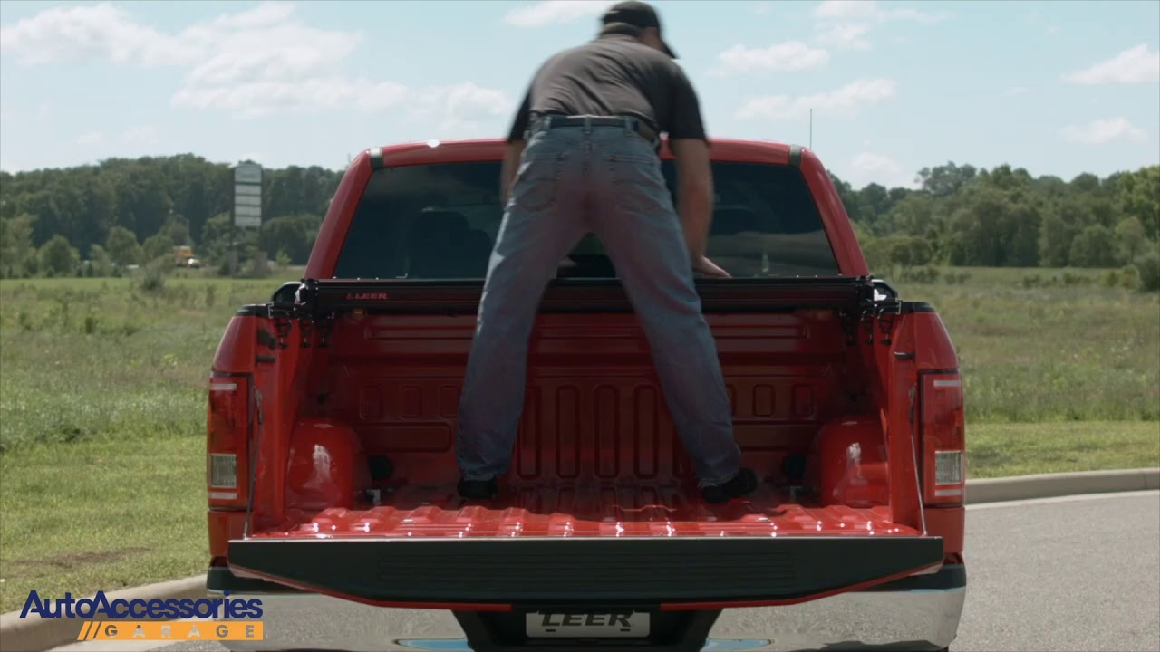 Leer Hf350m Hard Folding Tonneau Cover Installation Youtube