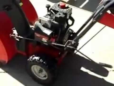 MTD Yard Machine Snowblower 5 24 Starting On First Pull