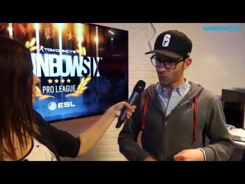 Rainbow Six: Siege - Alexandre Remy Interview