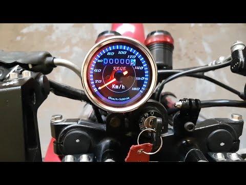 Installing Speedometer - Yamaha Modification