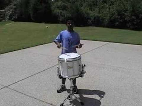 Cheezy Poofs, SCV Snare Warm-up, performed by Jay
