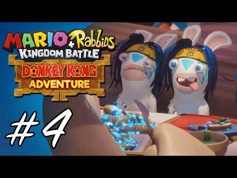 Donkey Kong Adventure #4 (Mario + Rabbids: Kingdom Battle DLC)