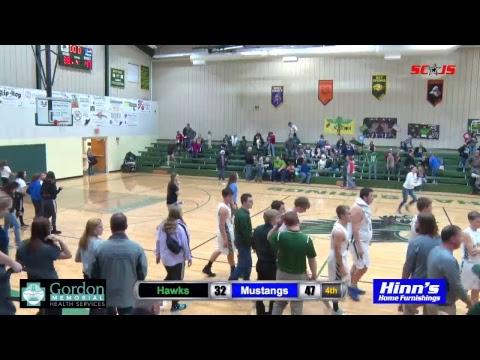 Gordon-Rushville Basketball vs. Hay Springs Hawks