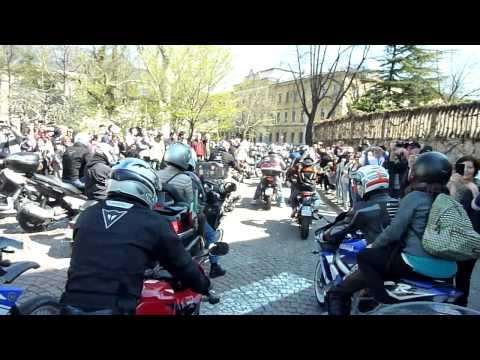 Benedizione delle moto 2013 Trento