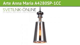 настольная лампа ARTE LAMP Anna Maria A4280LT обзор