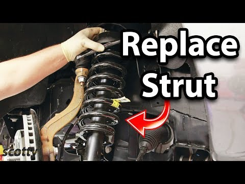 How To Safely Replace Suspension Struts On Your Car
