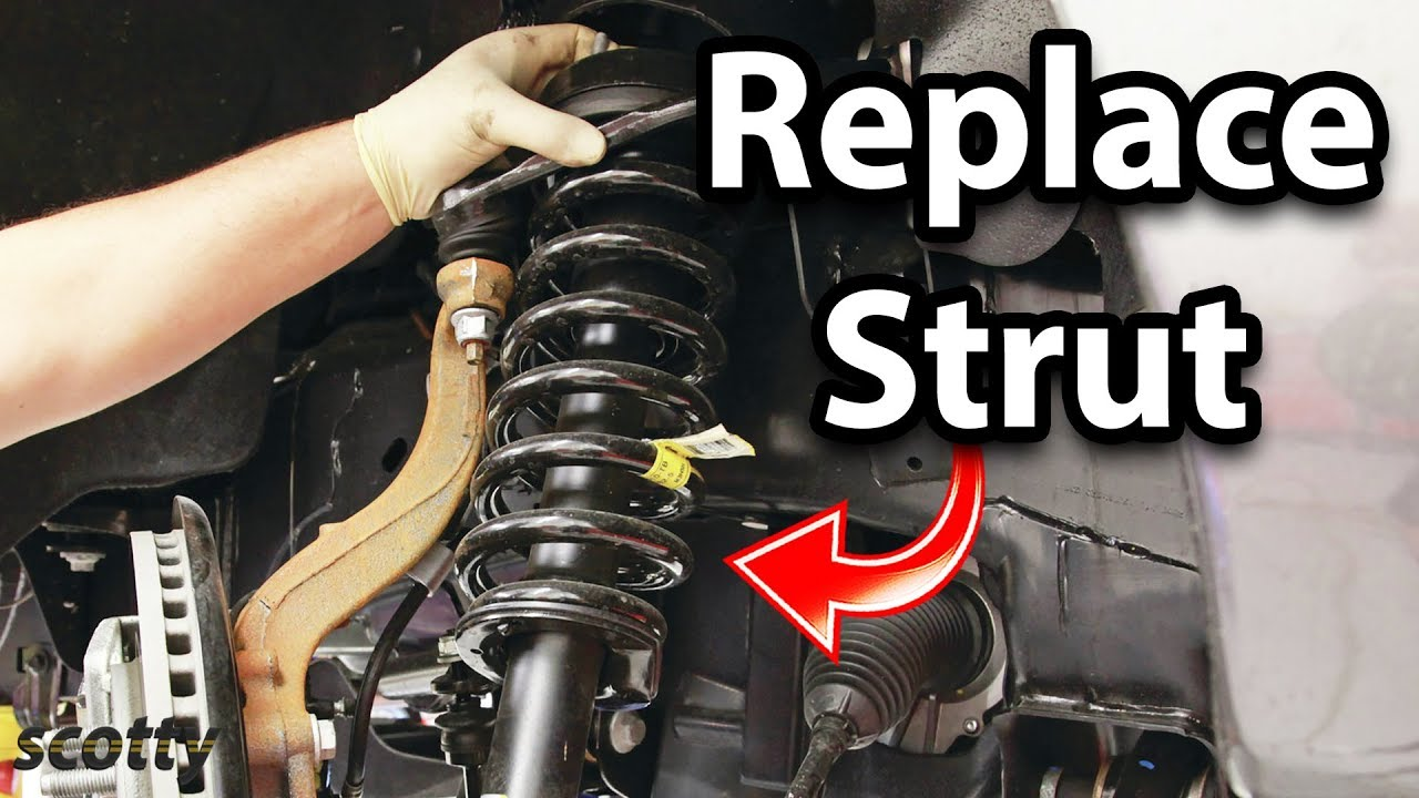 When To Replace Shocks And Struts >> How To Replace Suspension Struts In Your Car Youtube