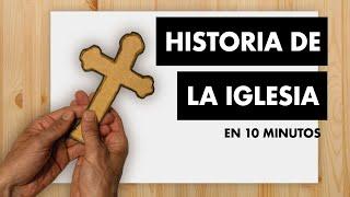 Historia De La Iglesia En Casi 10 Minutos Youtube