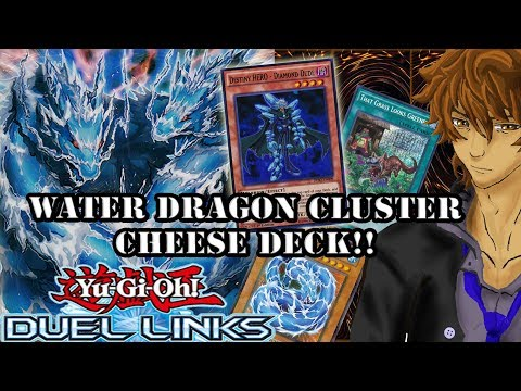 WATER DRAGON CLUSTER CHEESE DECK!! | YuGiOh Duel Links