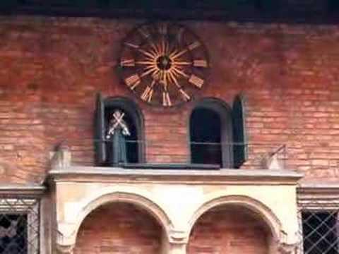Musical Clock at Collegium Maius U.J. Krakow Poland