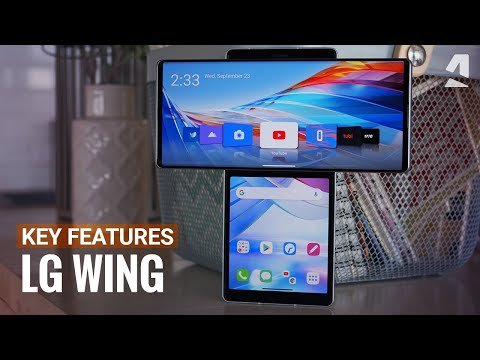 LG Wing hands-on & top new features