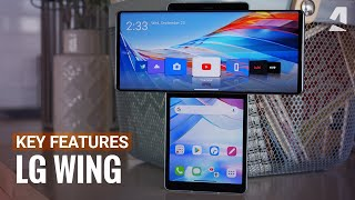 LG Wing hands-on & t๐p new features