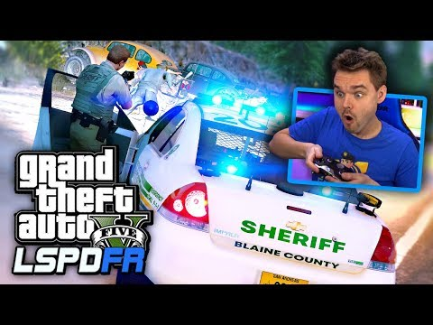 GTA 5 LSPDFR Sheriff Patrol 🚔 What if I shoot at them? (GTA 5 Realistic Police Mod)