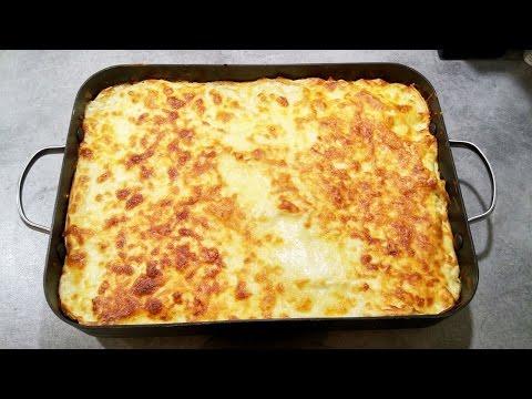recette-lasagnes-bolognaise-(viande-hachée,-sauce-tomate/pâtes-fraîches/fresh-pasta-all'uovo-)