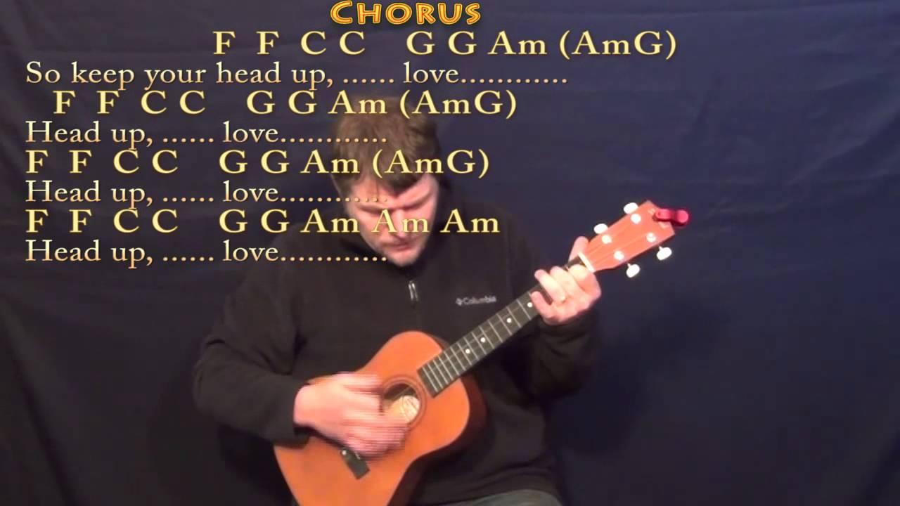 Stubborn Love Lumineers Bariuke Cover Lesson with Chords/Lyrics