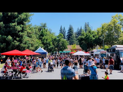 CUPERTINO NIGHT MARKET TOUR 2019 Near De Anza College Silicon Valley SF Bay Area