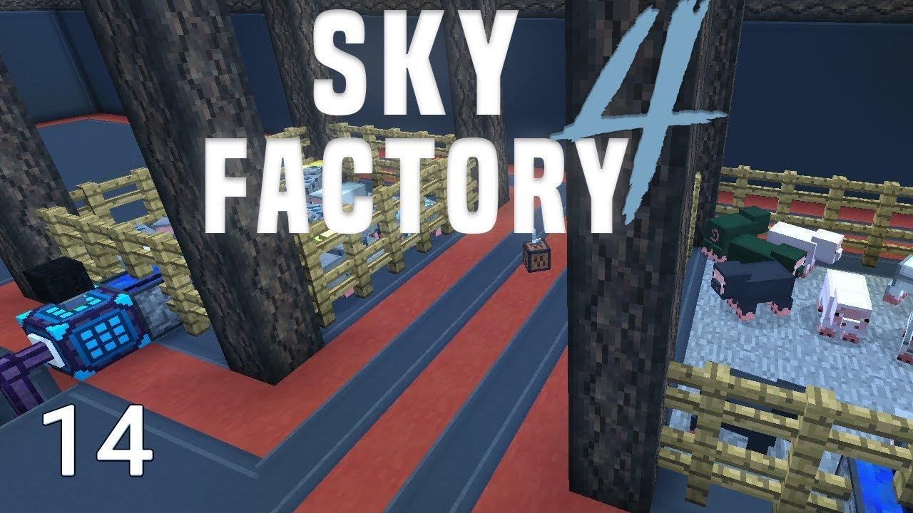 Sky Factory 4 Resource Hog Automation