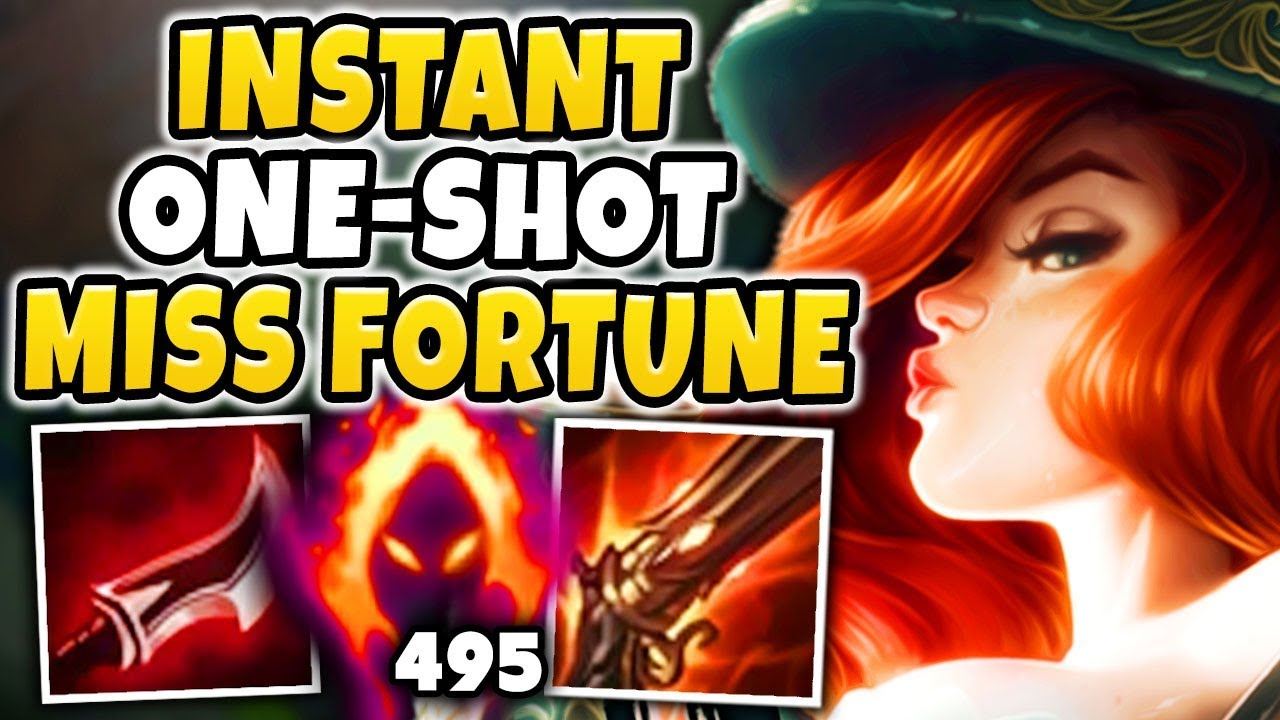 WTF! THIS MISS FORTUNE BUILD IS BEYOND BROKEN! UNREAL AMOUNTS OF DAMAGE!!! - League of Legends