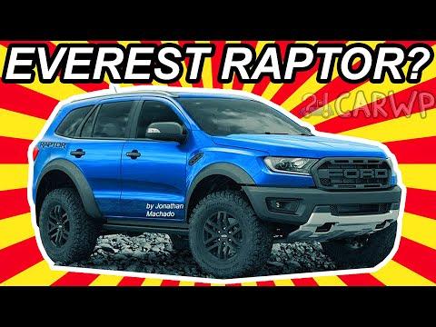 Render 2019 Ford Everest Raptor Ranger Suv Fordeverest