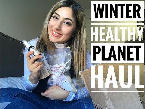 Healthy Planet Haul (supplements to stay healthy this Winter)