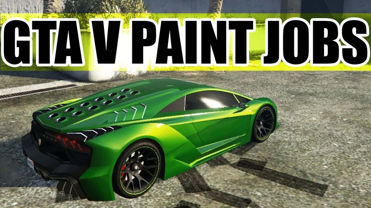 gta car paint jobs lemon lime green deep space pruple youtube. Black Bedroom Furniture Sets. Home Design Ideas