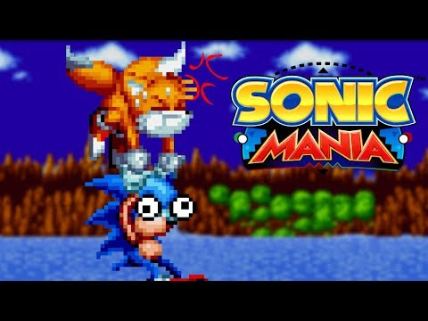 Tails keeps Sonic alive in SONIC MANIA? [Replay stream]