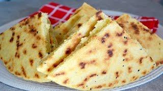 Voici la recette de la galette algérienne, appelée khobz ftir à Alg...