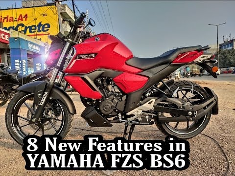 BS6 Yamaha FZS Review+price+ mileage 2019