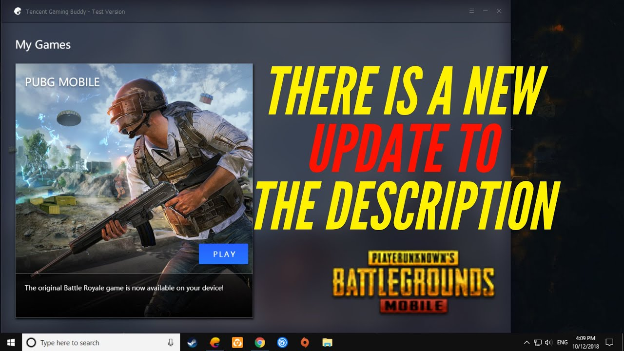 PUBG EMULATOR DETECTED TENCENT GAMING BUDDY BYPASS NEW METHOD 8/2018