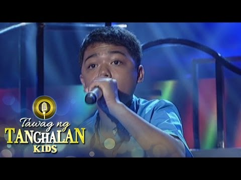 Tawag ng Tanghalan Kids: John Ramirez | Bulag, Pipi At Bingi