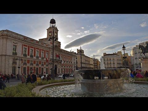 Madrid - Puerta del Sol and Plaza Santa Ana