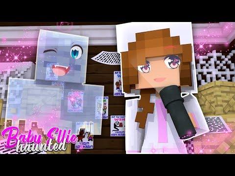 BABY ELLIE MEETS CASPER THE GHOST! | Minecraft Little Kelly