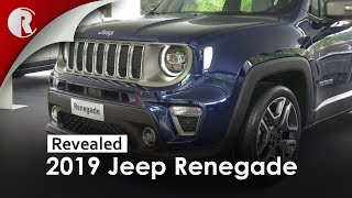 2019 Jeep Renegade Facelift European Version at Torino Motor Show