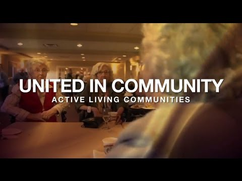 Community is an integral part of life at United Active Living