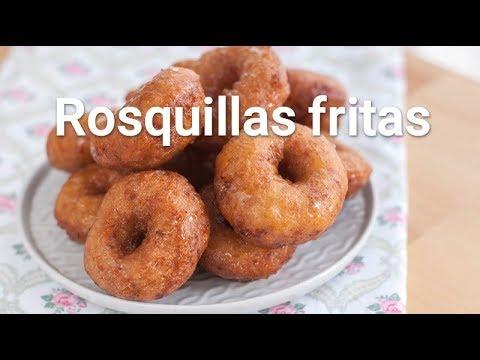 Rosquillas Caseras Fritas Youtube