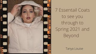 7 ESSENTIAL COATS TO SEE YOU THROUGH TO SPRING 2021 + BEYOND | Primark | Shein | ASOS - Tanya Louise
