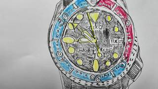 Gambar cover Drawing of a watch (took 23 minutes)