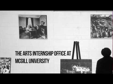 Faculty of Arts Internship Program - McGill University