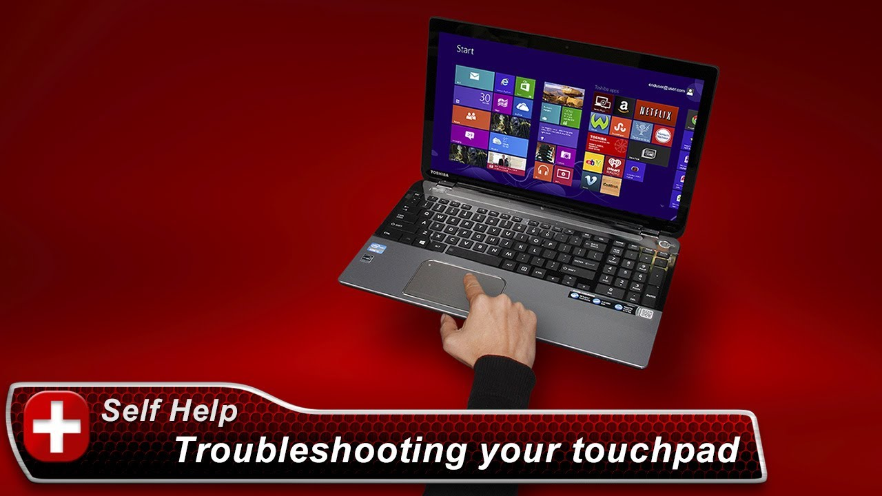 Toshiba How-To: Troubleshooting Touchpads - YouTube
