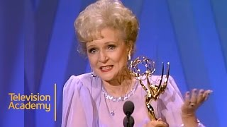 A snapshot of some betty's best moments over the years at emmys. real legend small screen.http://www.emmys.com/https://www.facebook.com/telev...