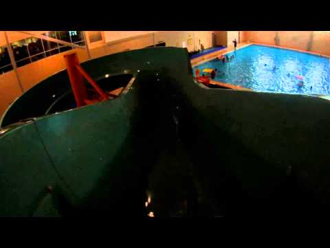 Waterslide (HD POV) Shaw Center Waterpark, Saskatoon, Saskatchewan, Canada
