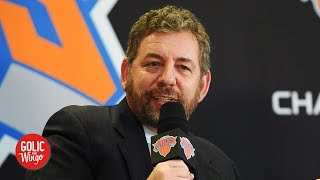 James Dolan does not regret banning Knicks fan from MSG - Michael Kay | Golic and Wingo