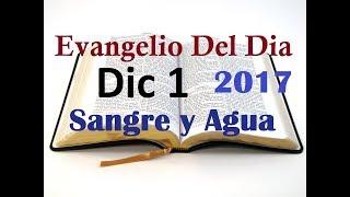 Evangelio del Dia- Viernes 1 Diciembre 2017- Mis Palabras Se Cumpliran- Sangre y Agua