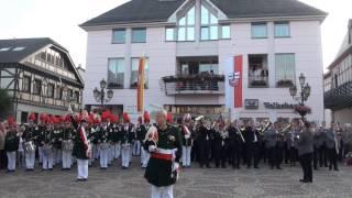 Schützenfest 2012 - Großer Zapfenstreich