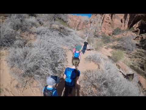 Johnson Canyon Arch 2017 (Camera angle issues)