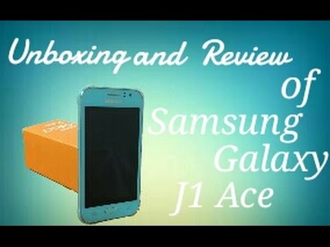 Unboxing and Review of Samsung Galaxy J1 Ace Blue