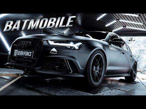 1000 Л.С. на КАЖДЫЙ ДЕНЬ? Audi RS6 1k+ Batmobile!